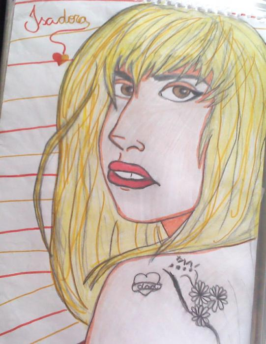 Lady Gaga by Isadora